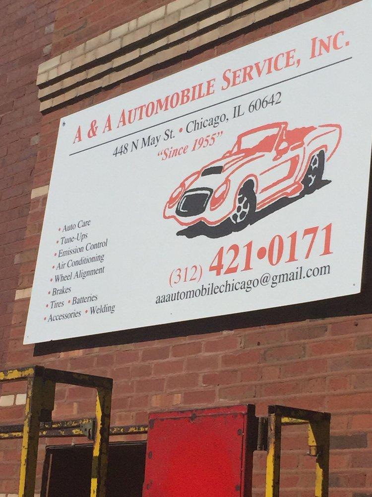 a & a automobile service inc chicago il