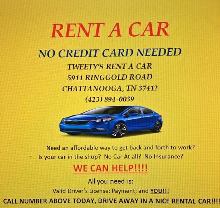 Tweety's Automart Rentals: 5911 Ringgold Rd, East Ridge, TN