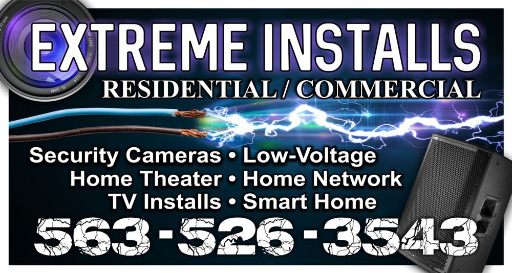 Extreme Installs: 117 W Hawley St, Amboy, IL