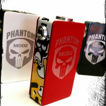 We carry the unregulated PHANTOM Box Mod# 26650 & 18650 Series and