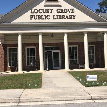 Groovy Locust Grove Public Library Libraries 115 Mlk Jr Blvd Download Free Architecture Designs Scobabritishbridgeorg