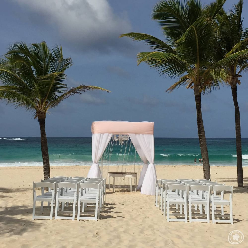 Beach Wedding Ceremony Michigan: Hard Rock Punta Cana Beach Wedding