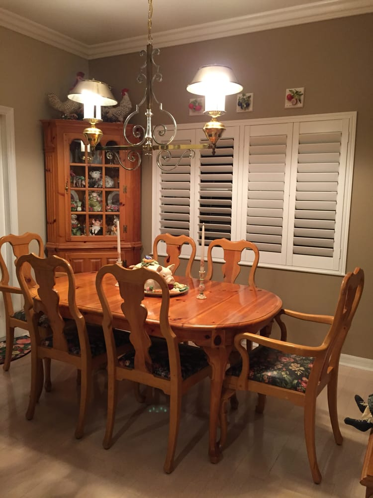 Before Solid Pine Dining Set With Corner Cabinet And Hall Tree Yelp
