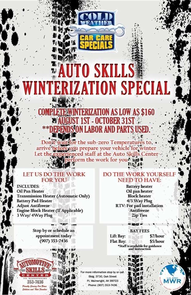 Automotive Skills Center: Oak St, Wainwright, AK