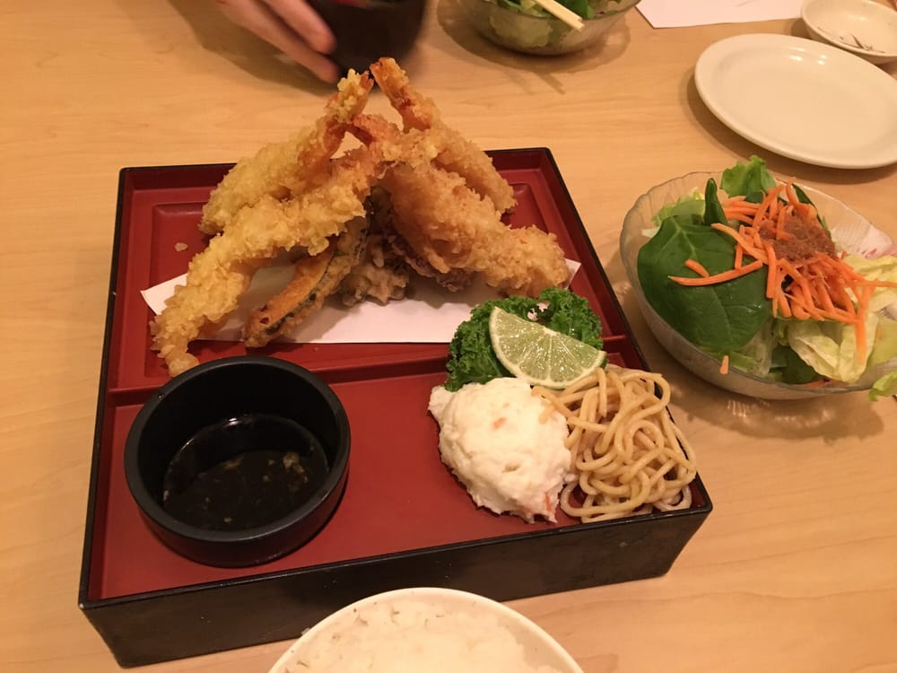 Shrimp veggie tempura set yelp for Asaka japanese cuisine