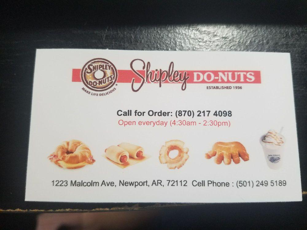 Shipley Donut Newport: 1223 Malcolm Ave, Newport, AR