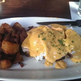 Irish bacon benedict - Yelp