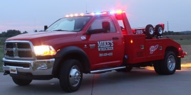 Mike's Wrecker Service: 161 McDowell Creek Rd, Manhattan, KS