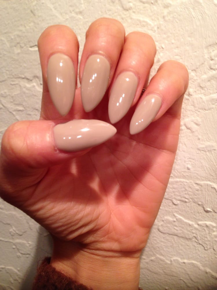 Love my long and pointy nails! They did a great fill on my acrylics ...