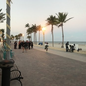Photo Of Hollywood Beach Boardwalk Fl United States
