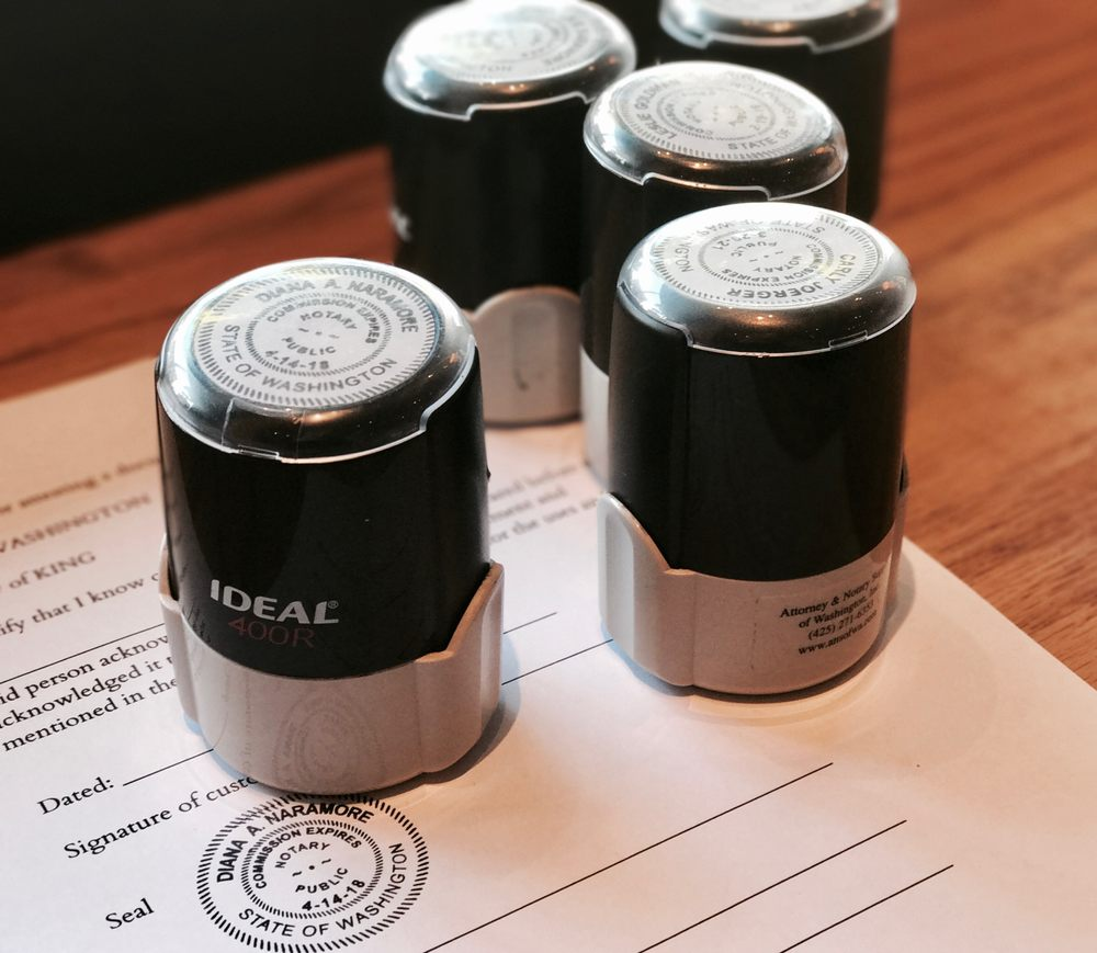 notary services available at both store locations #ballard