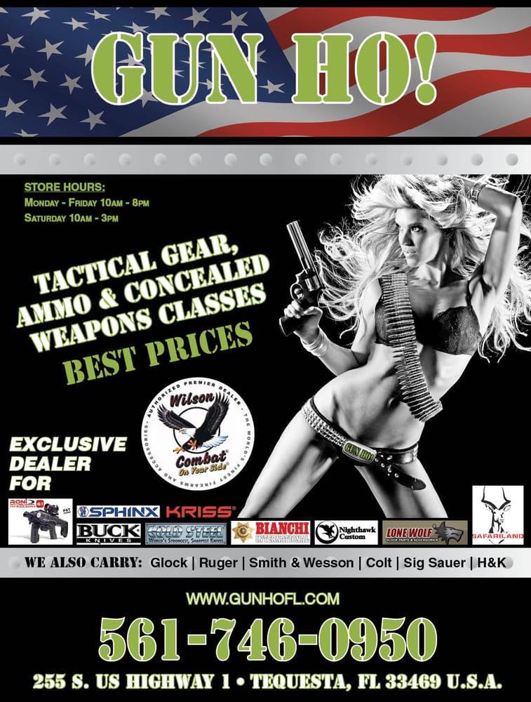Gun Ho!: 1431 10th St, Lake Park, FL
