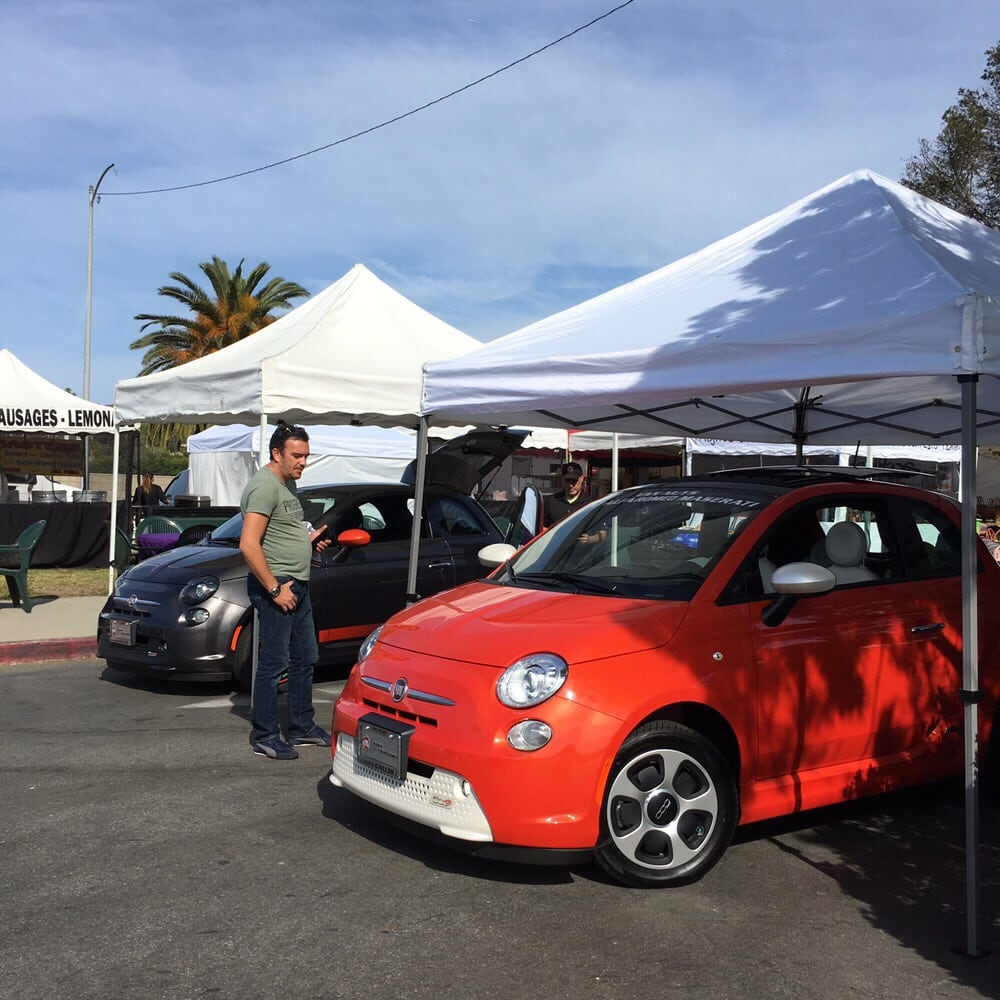 Earth Day 2016 in Malibu with Van Nuys Fiat. We brought out the 500e