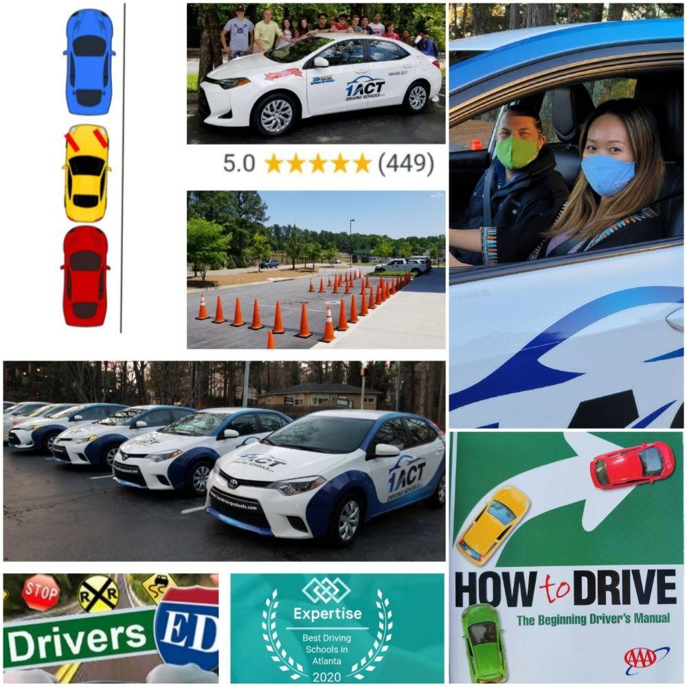 1 ACT Driving Schools: 325 Hammond Dr NE, Sandy Springs, GA