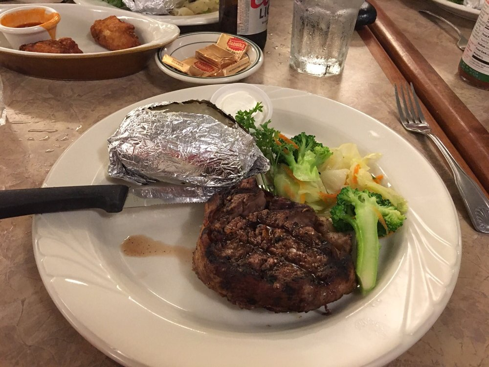 Howards Grotto Steakhouse: 14732 Lakeshore Dr, Clearlake, CA