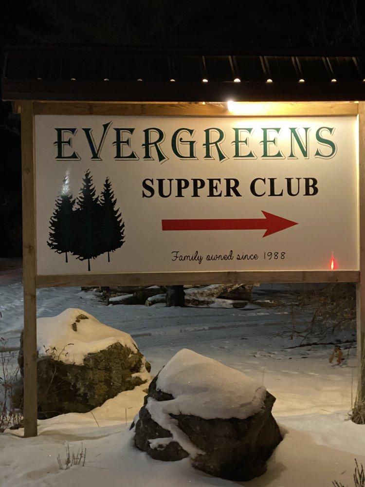Evergreens Supper Club: 1095 Apollo Rd, Black River Falls, WI