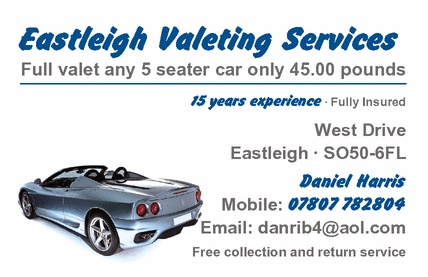 Car Wash Eastleigh