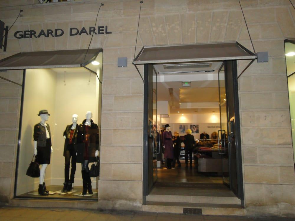 G rard darel fashion 6 rue voltaire h tel de ville for Hotel rue lafaurie monbadon bordeaux