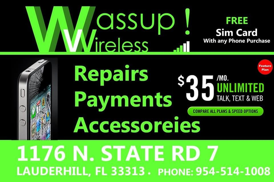 Wassup Wireless,Simple Mobile,T-Mobile,Net10,GoSmart,Ultra