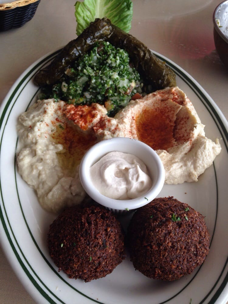 Veggie combo platter yelp for Ali baba mediterranean cuisine