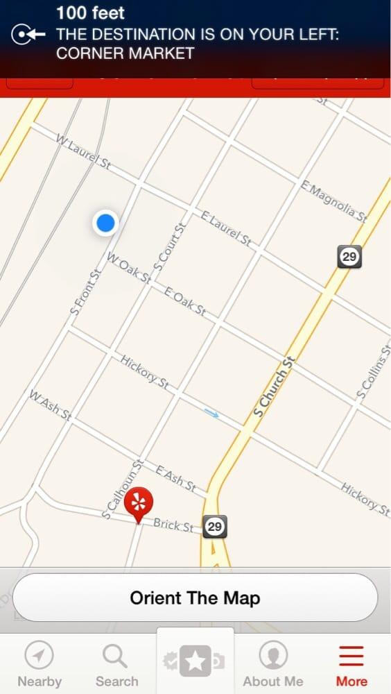 Corner Market: 503 S Front St, Ellisville, MS