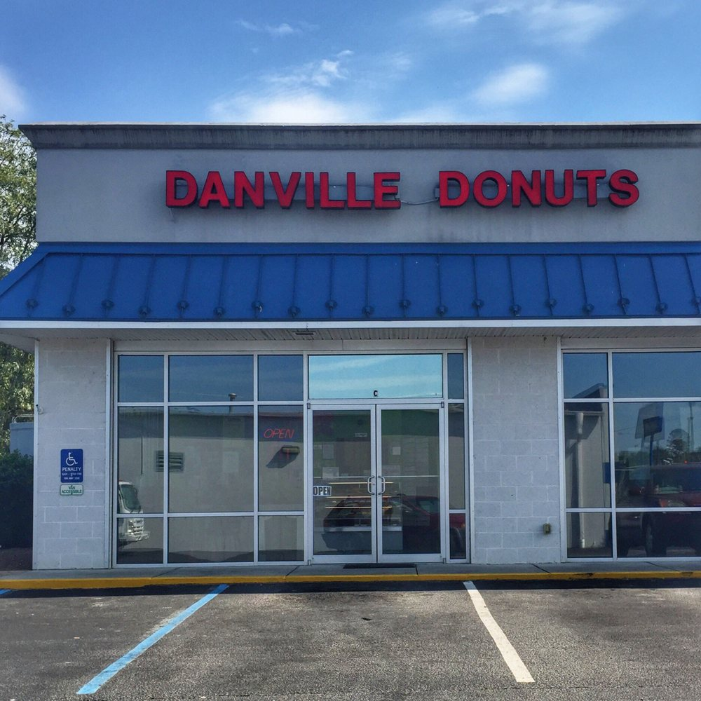 Food from Danville Donuts