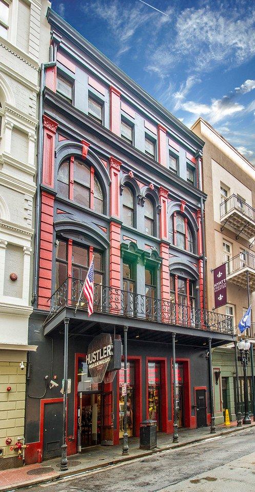 Hustler bourbon street