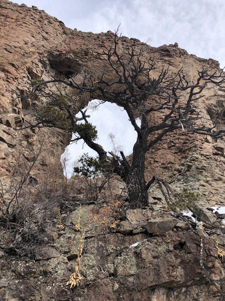 La Ventana Natural Arch: Del Norte, CO