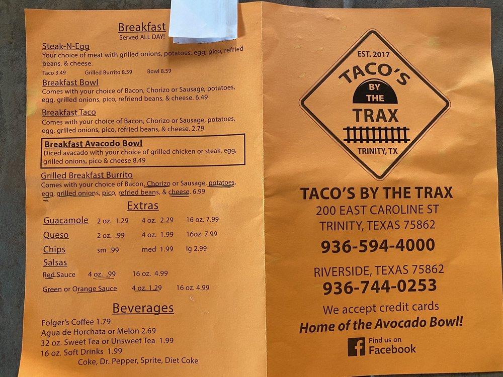 Tacos By The Trax: 3749 TX-19, Huntsville, TX