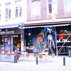 L atelier des arts closed bistros rue haute 9 for Ateliers cuisine bruxelles