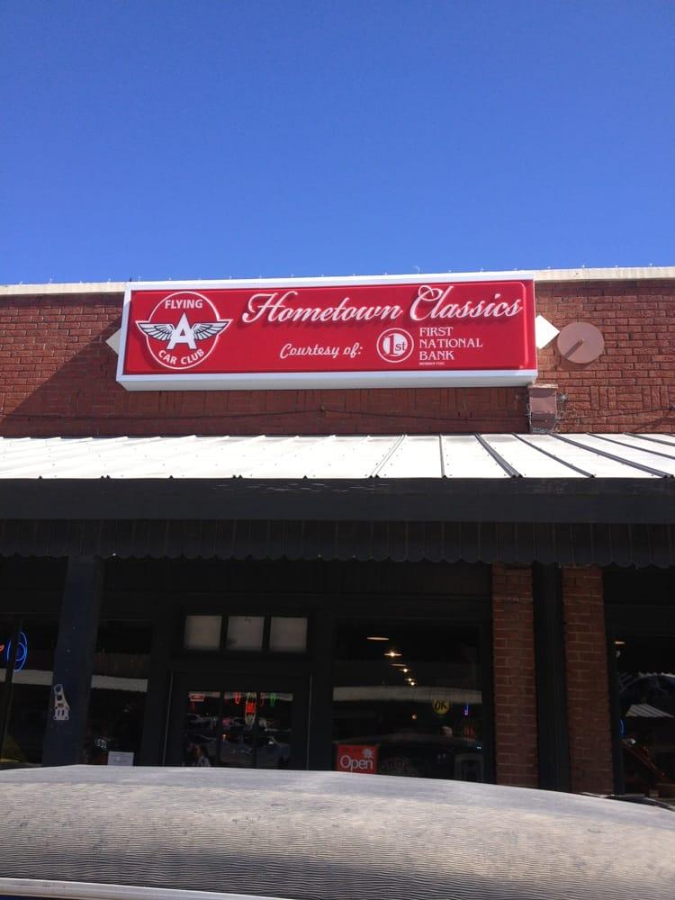 Flying A Car Club: 100 S Main St, Albany, TX