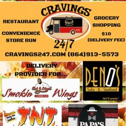 Cravings 24 7 Delivery Food Services