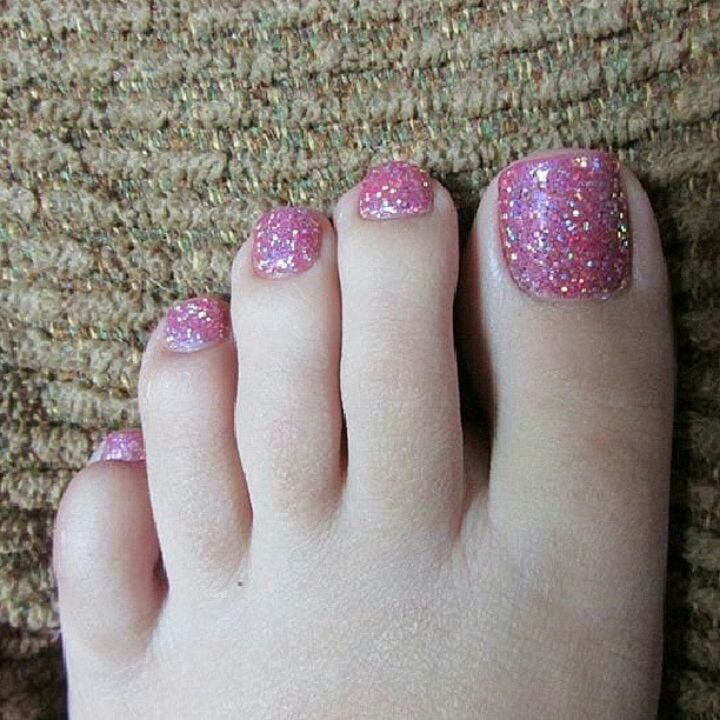 Rock star Glitter Toes No Chip Pedicure - Yelp