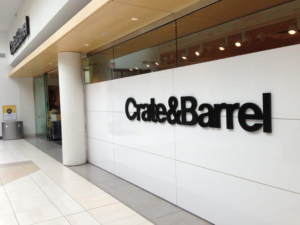 crate barrel 21 photos 18 reviews home decor 8701 keystone crossing indianapolis in. Black Bedroom Furniture Sets. Home Design Ideas