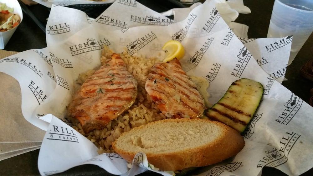 Salmon delicious yelp for California fish grill gardena ca