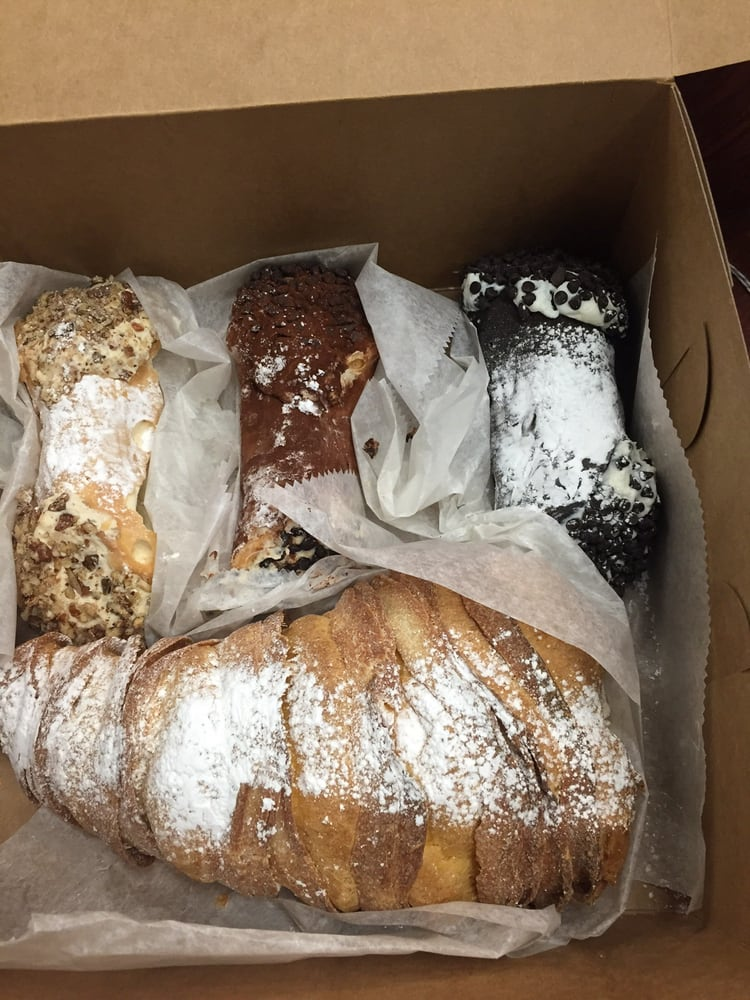 3 cannoli and lobster tail - Yelp