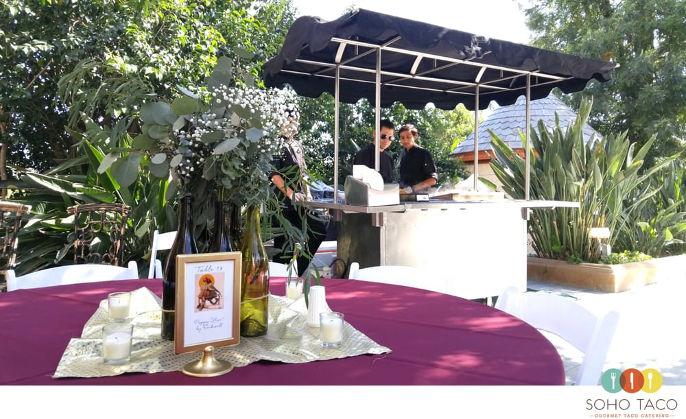Gourmet Taco Catering By Soho Taco For A Wedding In The