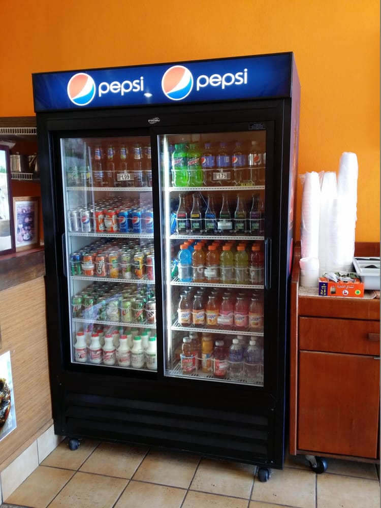 Your pepsi brand soda drink options yelp for Al tannour mediterranean cuisine menu