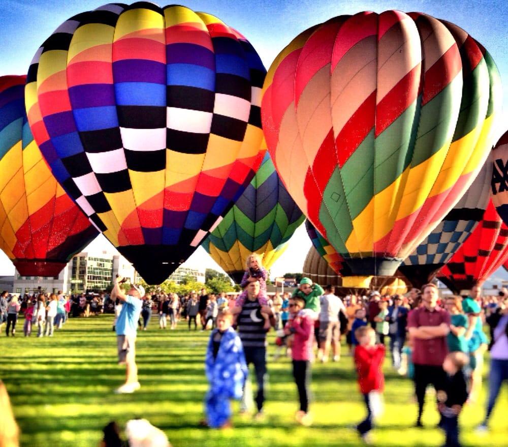 Freedom Festival Hot Air Balloon Fest: 1100 Freedom Blvd 200 W, Provo, UT