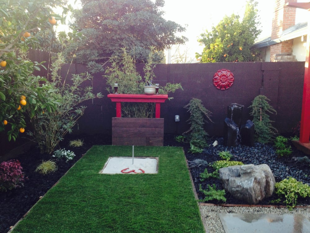 Merveilleux Photo Of Dowson Design   Sacramento, CA, United States. Horseshoe Pit For  Japanese