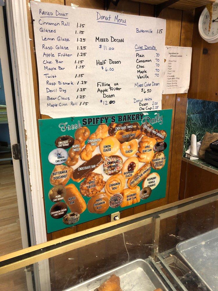 Spiffy's Bakery: 104 2nd Ave NE, Napavine, WA