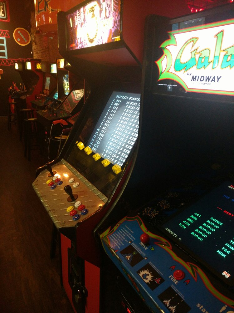 Gamers Arcade Bar: 321 W Sprague Ave, Spokane, WA