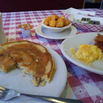 The Pancake Cafe Durham Menu