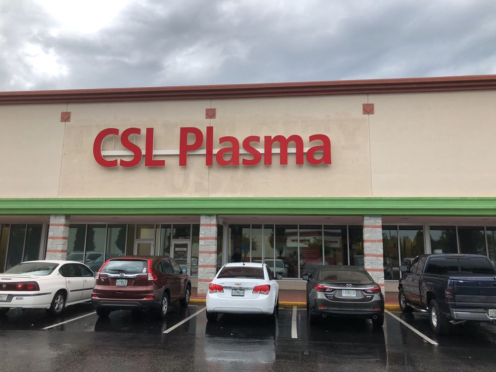 CSL Plasma: 7490 49th St N, Pinellas Park, FL