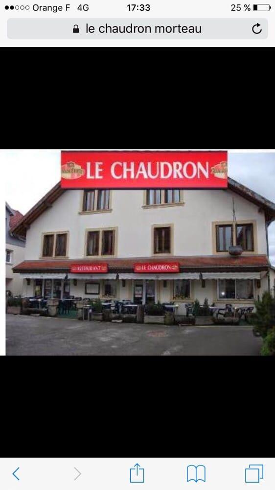 Le Chaudron: 18 Grande rue, Morteau, 25