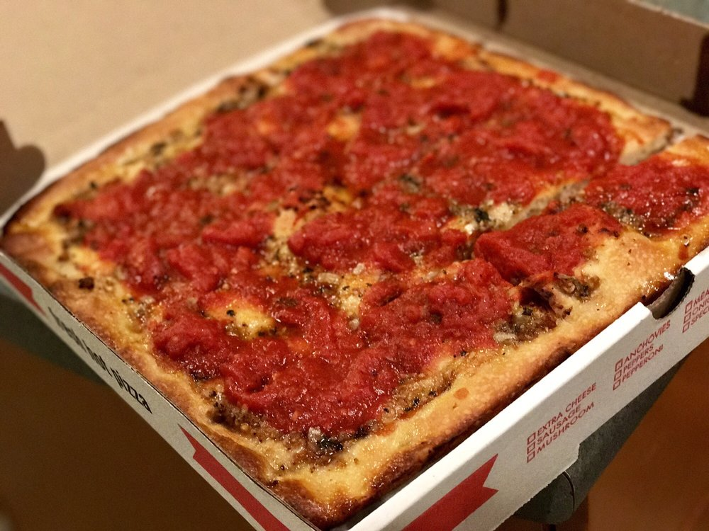 Food from Franco's Pizzeria