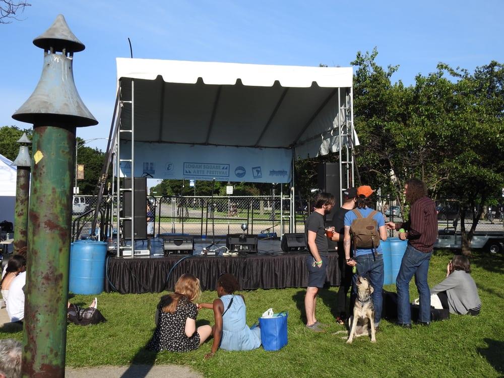 Logan Square Arts Festival: 2604 N Milwaukee Ave, Chicago, IL