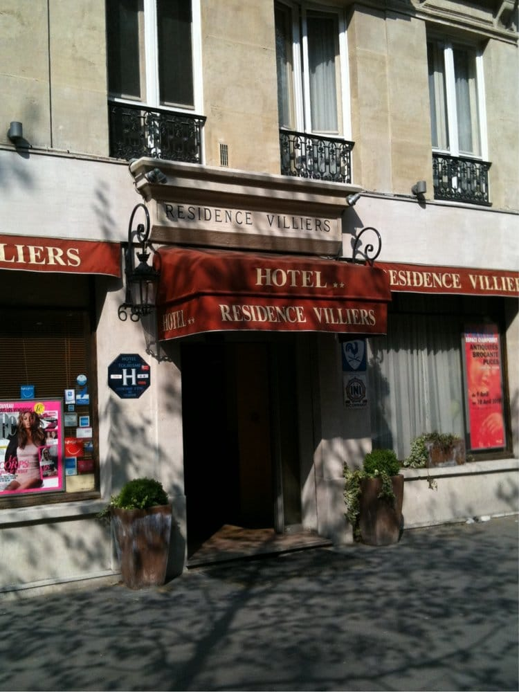Hotel residence villiers h tels 68 avenue de villiers for Hotel france numero