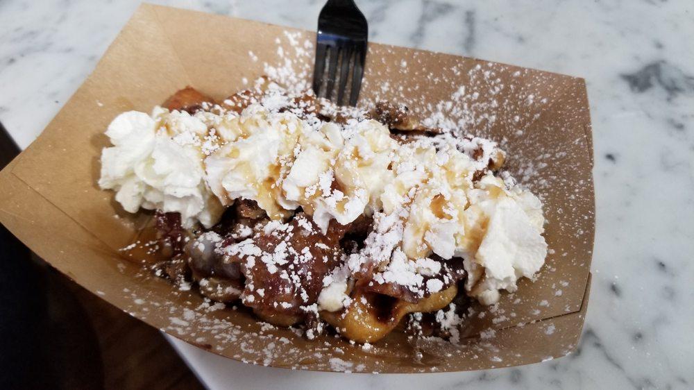 Cousteau's Waffle And Milkshake Bar: 15 Hypolita St, Saint Augustine, FL