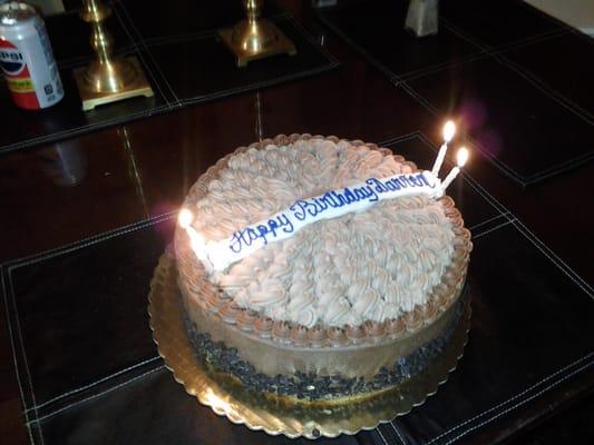 Happy Birthday Sheron German Chocolate Cake